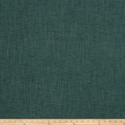 Fabricut Zenith Chenille Basketweave Teal Fabric