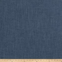 Fabricut Zenith Chenille Basketweave Denim Fabric