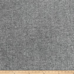 Jaclyn Smith 02133 Linen Cotton Shimmer Charcoal Fabric