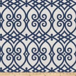 Jaclyn Smith 02616 Navy Linen Fabric