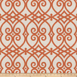 Jaclyn Smith 02616 Pumpkin Linen Fabric