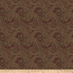 Trend 02897 Jacquard Red Fabric
