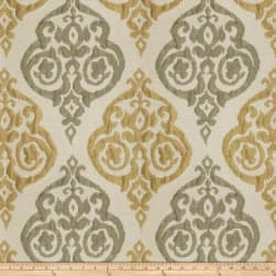 Trend 03155 Faux Silk Olive Brass Fabric