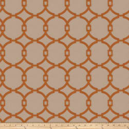 Vern Yip 03186 Burnt Orange Fabric