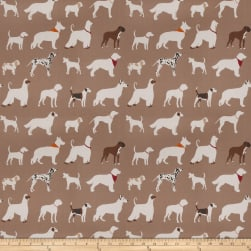 Vern Yip 03342 Brown Fabric