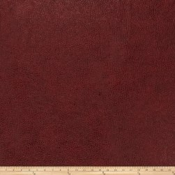 Trend 03343 Faux Leather Burgundy Fabric