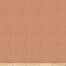 Vern Yip 03353 Jacquard Orange Fabric