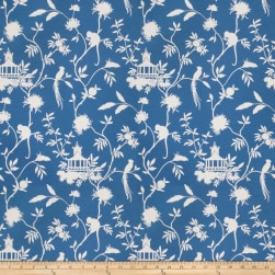 Vern Yip 03364 Duck Blue Fabric