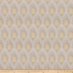 Vern Yip 03374 Jacquard Yellow Grey
