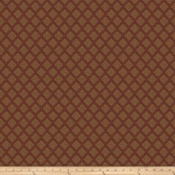 Trend 03395 Jacquard Red Fabric