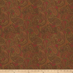 Trend 03397 Jacquard Red Fabric