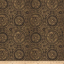 Trend 03450 Jacquard Black Fabric