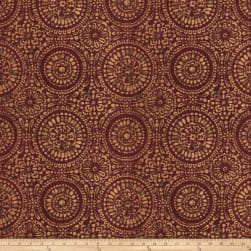 Trend 03450 Jacquard Red Fabric