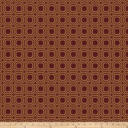 Trend 03451 Jacquard Red Fabric