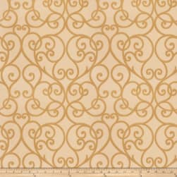 Trend 03533 Jacquard Antique Gold Fabric