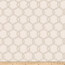 Trend 03679 Embroidered Dove Grey Fabric