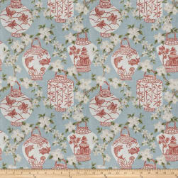 Jaclyn Smith 03710 Coral Reef Linen Fabric