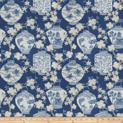 Jaclyn Smith 03710 Navy Linen Fabric