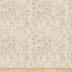 Jaclyn Smith 03710 Stone Fabric