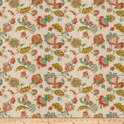 Jaclyn Smith 03713 Coral Reef Linen Fabric