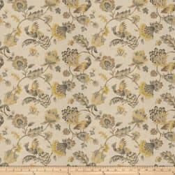 Jaclyn Smith 03713 Platinum Linen Fabric