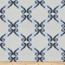 Jaclyn Smith 03714 Navy Canvas Fabric