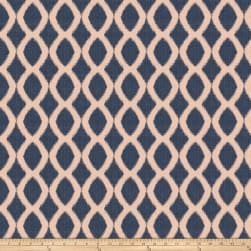 Jaclyn Smith 03718 Jacquard Navy Fabric