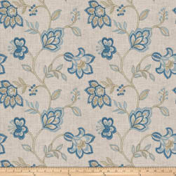 Jaclyn Smith 03725 Navy Linen Fabric