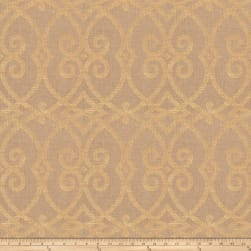 Jaclyn Smith 03730 Metallic Linen Gold Fabric