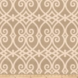 Jaclyn Smith 03730 Linen White Fabric