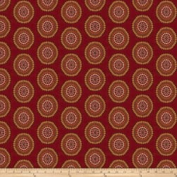 Trend 03827 Jacquard Ruby Fabric