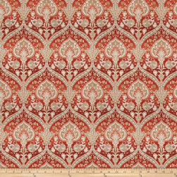 Trend 03882 Chenille Jacquard Redwood Fabric