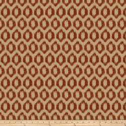 Trend 03894 Chenille Jacquard Tuscan Red Fabric