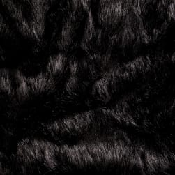 Shannon Faux Fur Grizzly Black