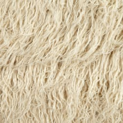 Shannon Luxury Faux Fur Curly Alpaca Fur Beige