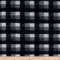 Shannon Berber Check Fleece Denim Fabric