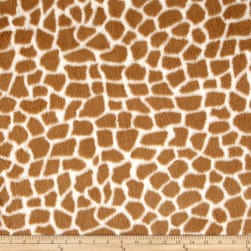 Shannon Minky Luxe Cuddle Giraffe Natural/Tan