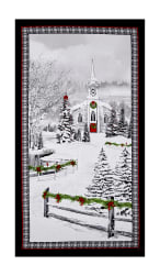 "Home For The Holiday Home For The Holidays 23.5"" Panel Multi"