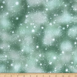 QT Fabrics Woodland Friends Snow Pine Fabric