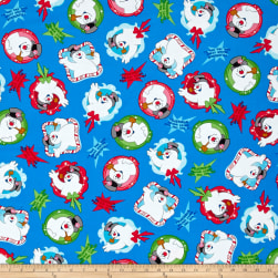 QT Fabrics Frosty the Snowman Everyone's Fav Snowman