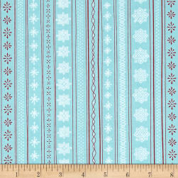 Ink & Arrow Mingle & Jingle Snowflake Stripe
