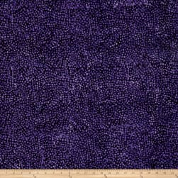 Timeless Treasures Tonga Batik Haunted Mosaic Violet Fabric