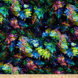 Beneath The Waves Digital Print Abstract Coral Reef Ocean