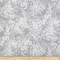 Sparkle & Fade Metallic Branches Slate/Silver Fabric