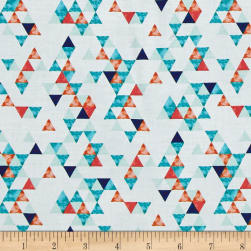 Summer Punch Triangle Geo Oasis Fabric