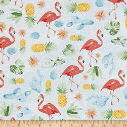 Summer Punch Flamingo Flamingo Fabric
