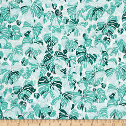 Summer Punch Leaf Spearmint Fabric