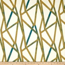 Genevieve Gorder Intersections Peacock Fabric