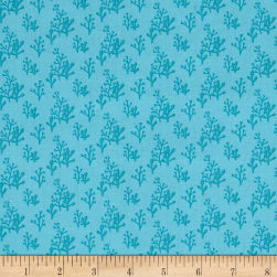 Sail Away Tonal Aqua Fabric