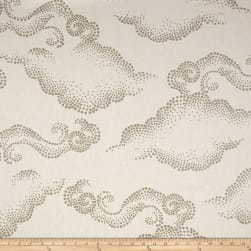 Dwell Studio Cloudburst Linen Pearl Fabric